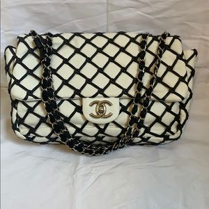 AUTHENTIC •CHANEL• cruise 2011 jumbo flap bag